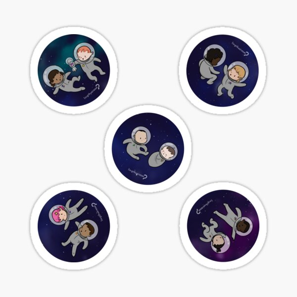 Space Baby - Baby Stickers Sticker