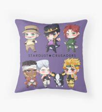 JJBA Stardust Crusaders Throw Pillow