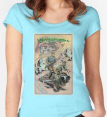 Captain Hawklin - Jade Dragon Women's Fitted Scoop T-Shirt