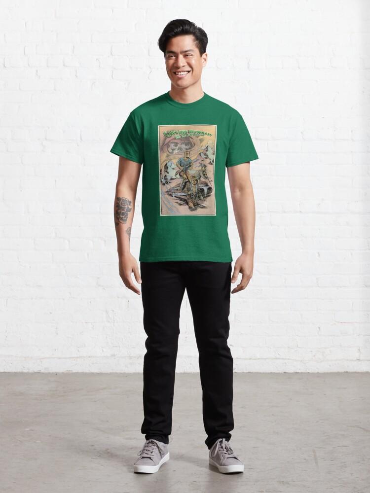 Alternate view of Captain Hawklin - Jade Dragon Classic T-Shirt