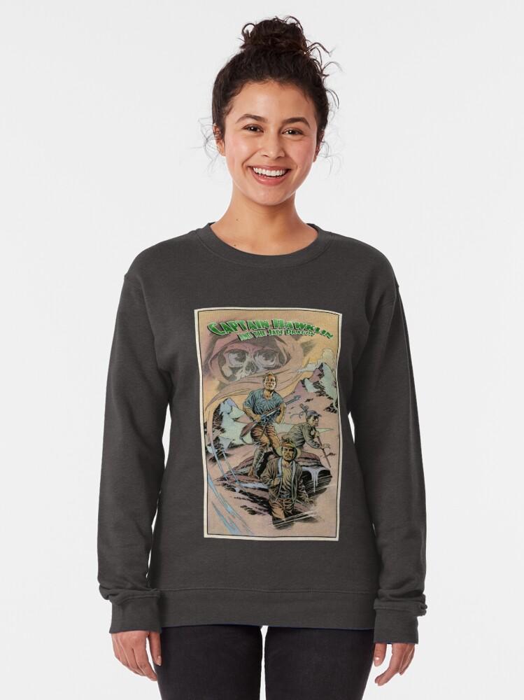 Alternate view of Captain Hawklin - Jade Dragon Pullover Sweatshirt