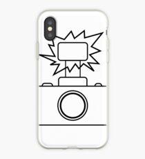 Camera SLR Flash_outline iPhone Case
