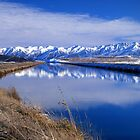 Pukaki Canal, Canterbury, New Zealand by McCall-Images