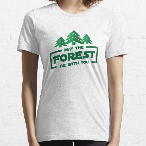 Möge der Wald mit dir sein Essential T-Shirt