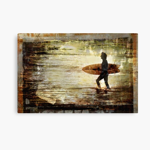 Vintage Surf Canvas Print