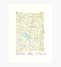 USGS TOPO Map New Hampshire NH New London 329710 1998 24000 Art Print