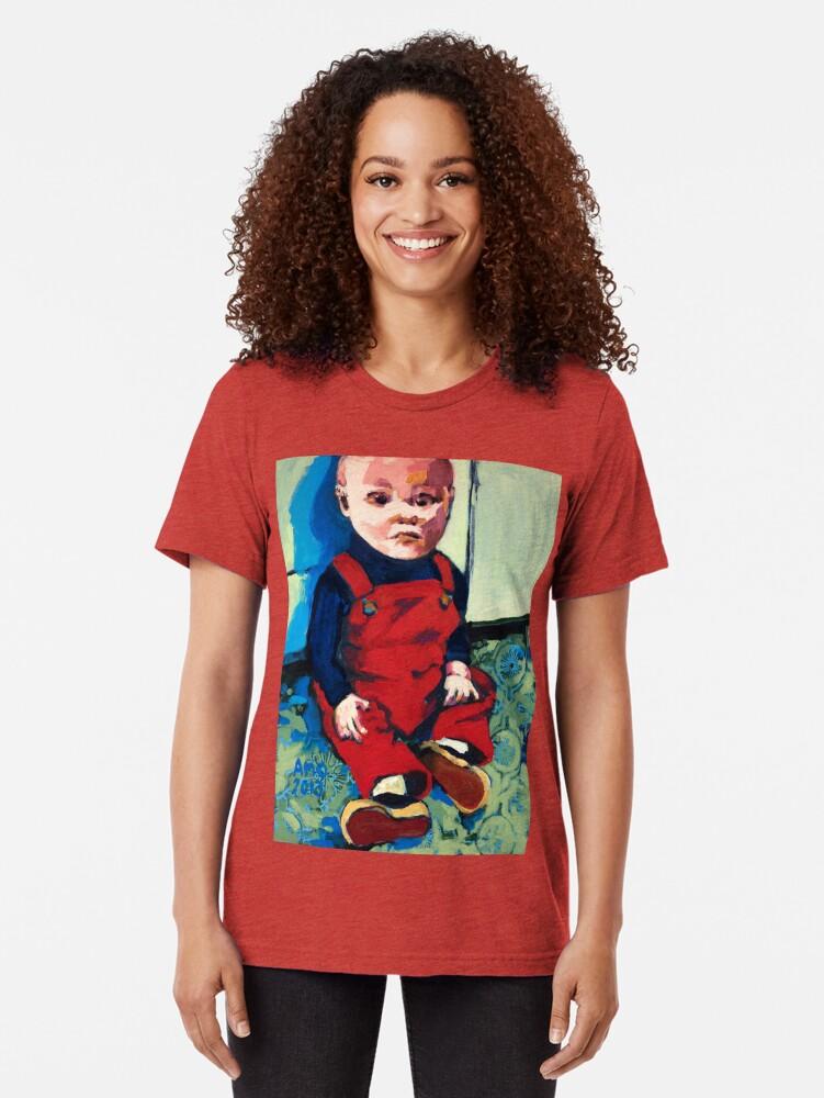 Alternate view of Vladimir Tri-blend T-Shirt