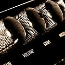 VOLUME control on the electric guitar amplifier by yurix