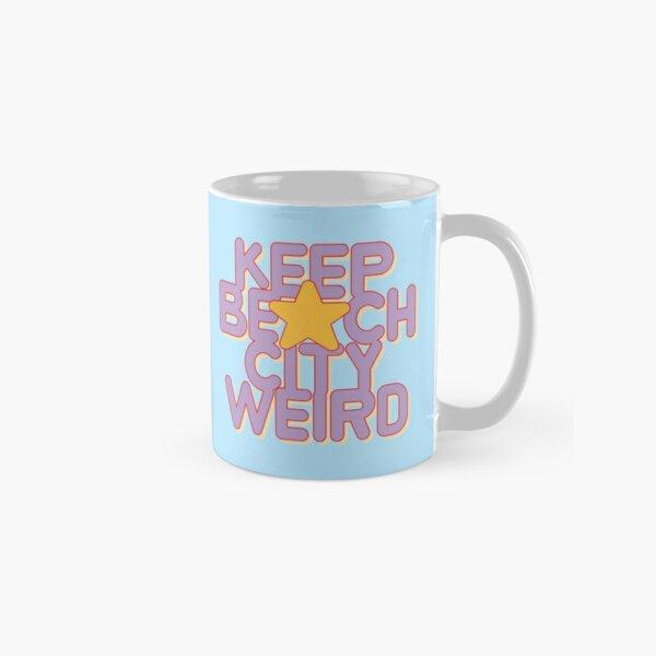 KEEP BEACH CITY WEIRD Classic Mug
