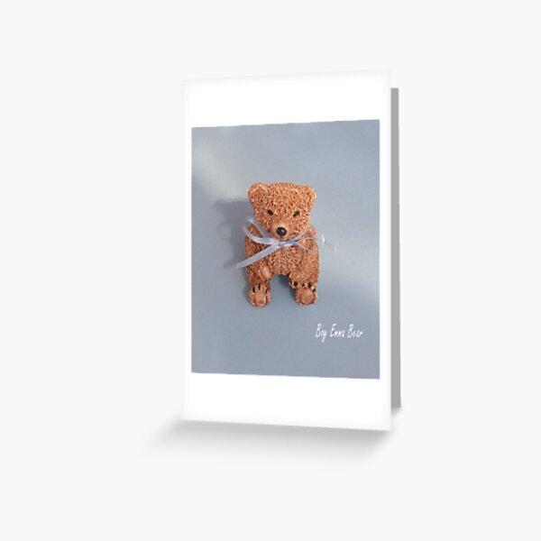 Emma Bear boy Greeting Card