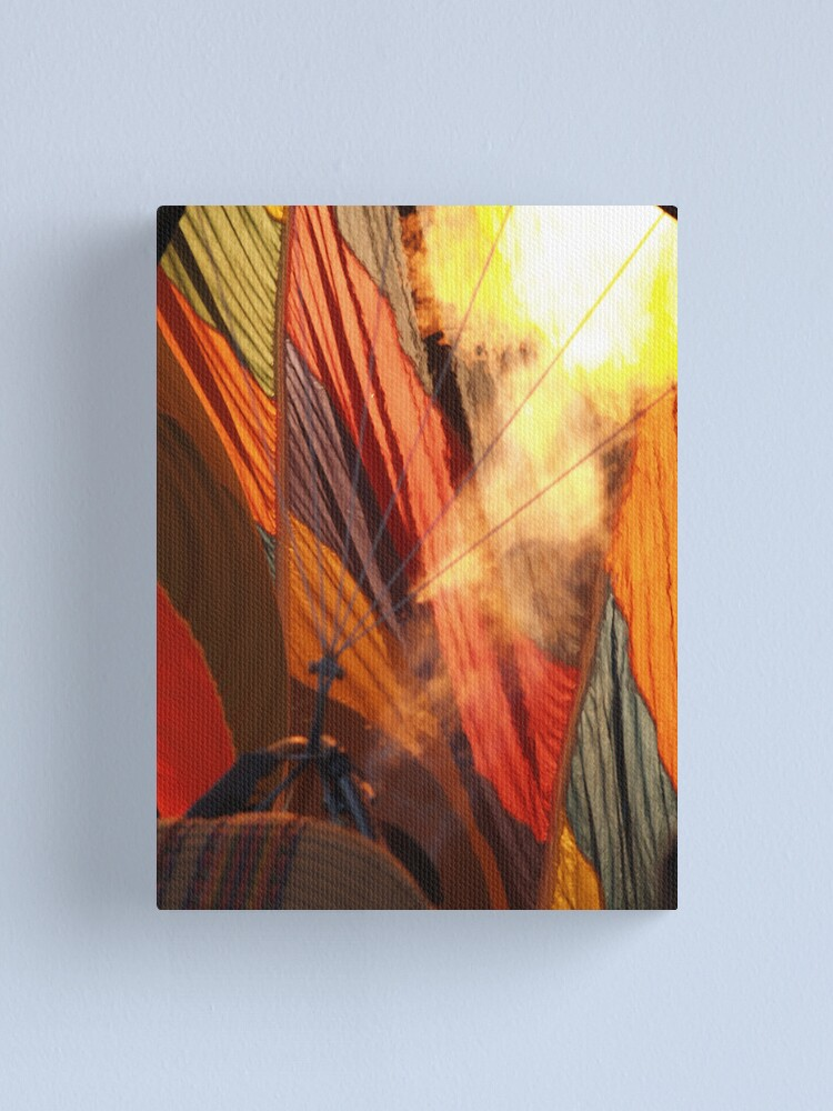 Alternate view of Fire It Up Canvas Print