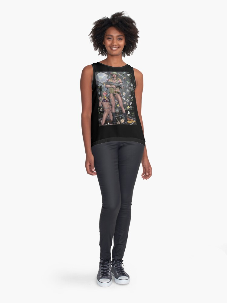 Alternate view of Hippie Witch First Earth Battalion Sleeveless Top