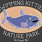 Schwimmen Kitties Naturpark von Britt Sorensen