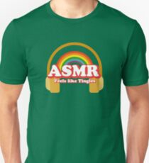 ASMR Binaural Tingles Tee Unisex T-Shirt