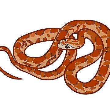 Corn Snake Design by wildlifeandlove