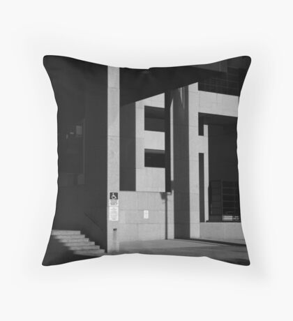 Cleveland - Homage to Paul Strand Throw Pillow