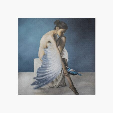 Kindred Blue Art Board Print