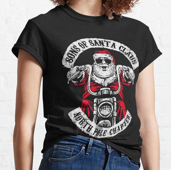 Sons of Anarchy - Biker Santa Classic T-Shirt