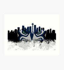 Seattle 12th Man Skyline 937a5ef5a