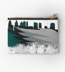 Philadelphia Inspired Skyline Art  Studio Pouch