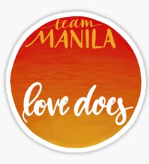 Special Project: Team Manila Sticker