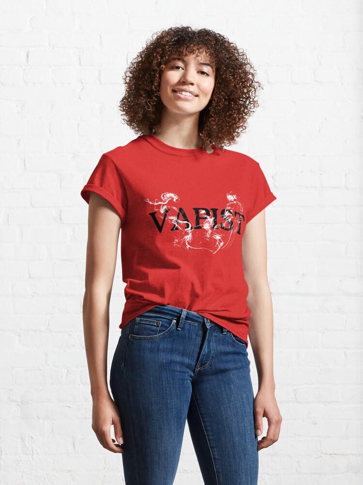 "Alternate view of ""Vapist"" - for People who Vape Classic T-Shirt"