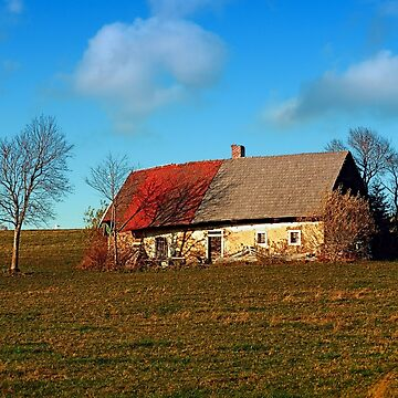 Old abandoned farmhouse | architectural photography by patrickjobst