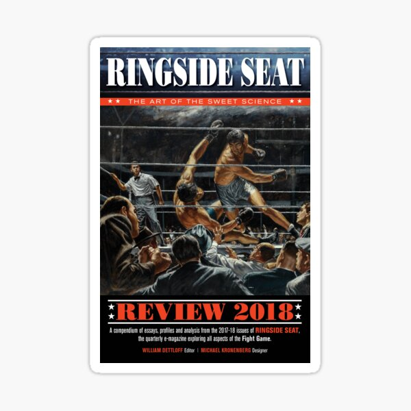 RINGSIDE SEAT Review 2018 Sticker