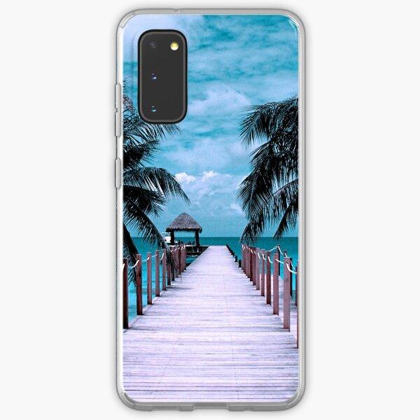 Vintage Ocean Beach  Samsung Galaxy Soft Case