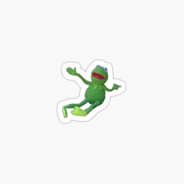 kermit is teeny tiny Sticker