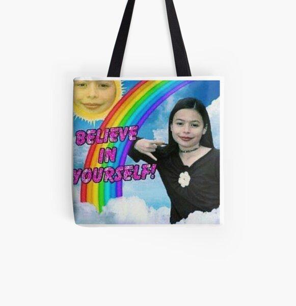 Miranda Cosgrove Allover-Print Tote Bag