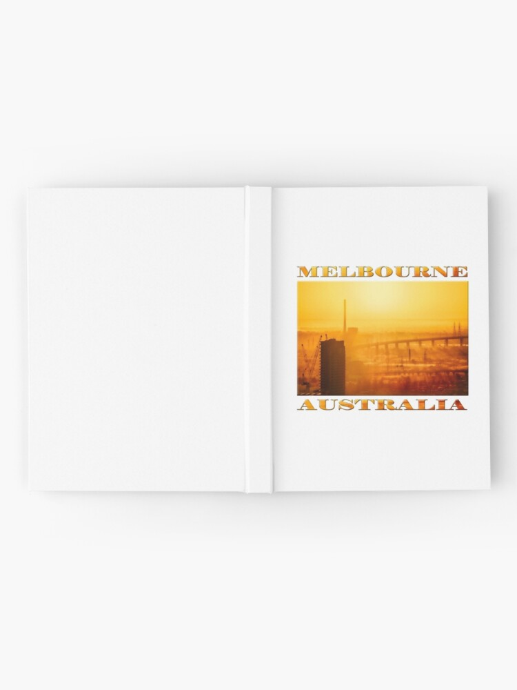 Alternate view of Hot in the City (poster on white) Hardcover Journal