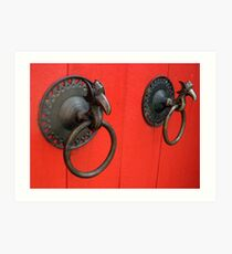 Couple of Knockers Art Print