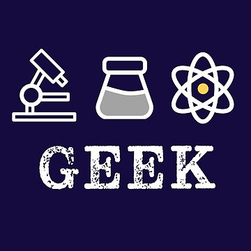 Proud Geek Science Retro by happinessinatee
