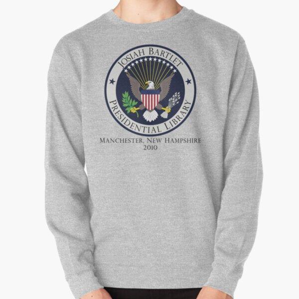 Josiah Bartlet Presidential Library Logo Pullover Sweatshirt