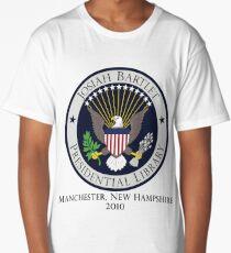 Josiah Bartlet Presidential Library Logo Long T-Shirt