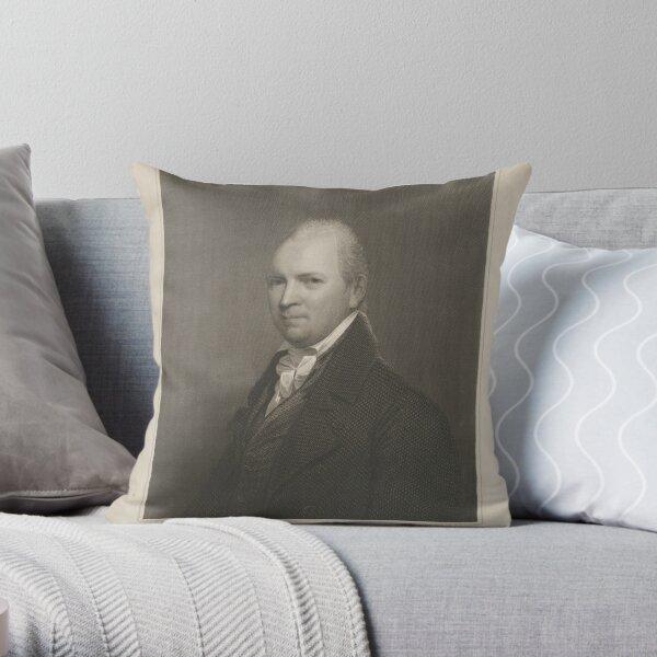 John M. Mason, D.D. S.T.P. (1770–1829) Throw Pillow