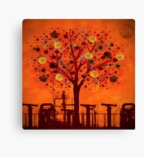 The tree factory Canvas Print