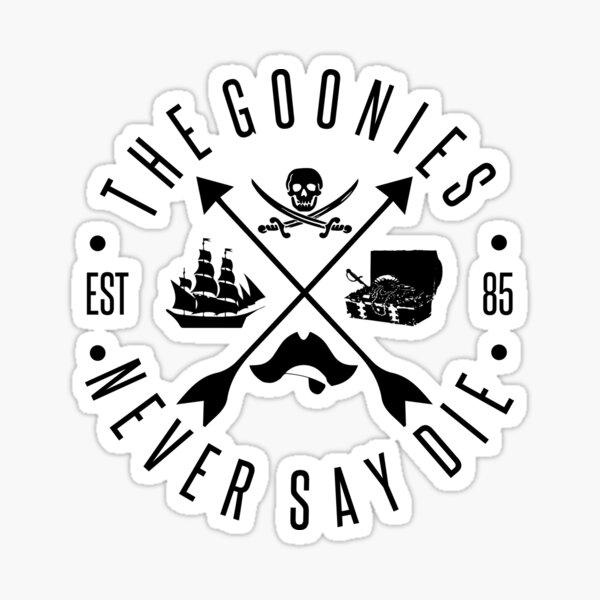 Los Goonies Pegatina