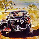 Mercedes..fabulous Fiftees...racing in the desert by edsimoneit