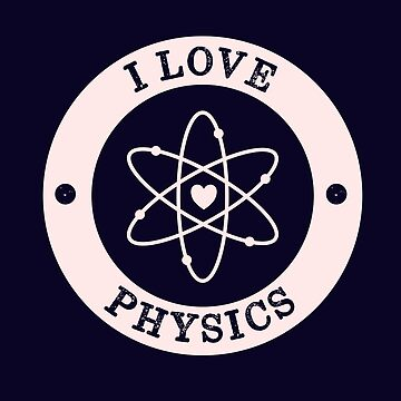Super Cool I Love Physics Retro by happinessinatee