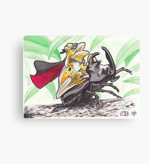 Super Rodeo Frog Canvas Print