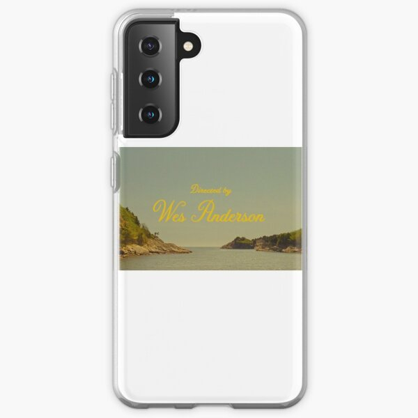 directed by wes anderson  Samsung Galaxy Soft Case