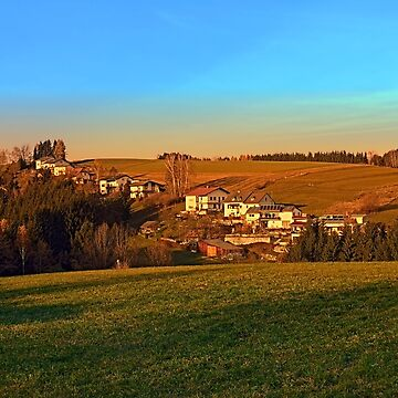 Village above the valley | landscape photography by patrickjobst