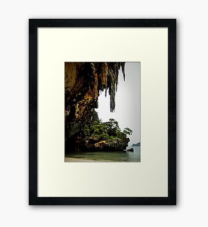 Railay Dreaming..... Framed Print