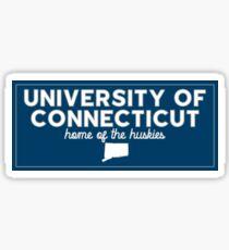 University of Connecticut - Style 9 Sticker