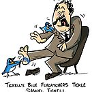 Tickell's Blue Flycatcers Tickle Samuel Tickell by rohanchak