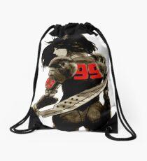 Manga Angel Watercolor Drawstring Bag