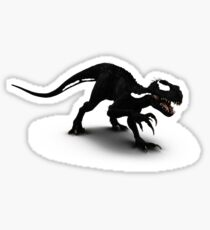 Indoraptor Venom Mashup  Sticker