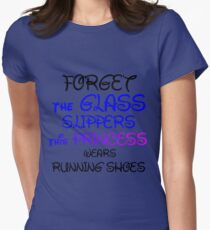 GLASS SLIPPERS (BLK WRITING) T-Shirt